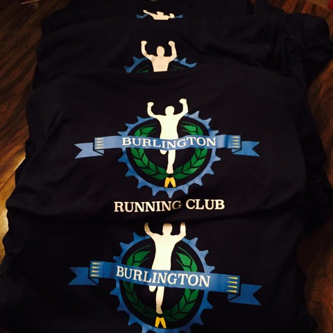 Burlington Running Club Logo Shirt